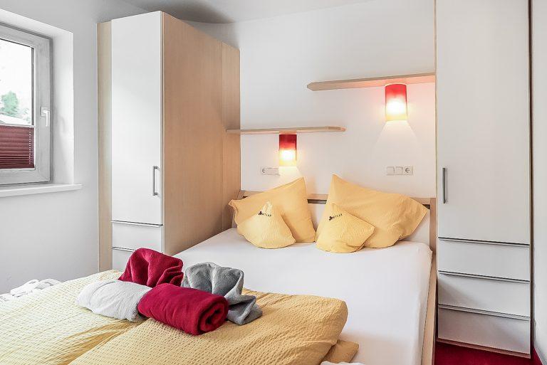 Apart Resort Relax Appartement Rebecca Wintergarten Suite Familie Ötztal Längenfeld Schlafzimmer2