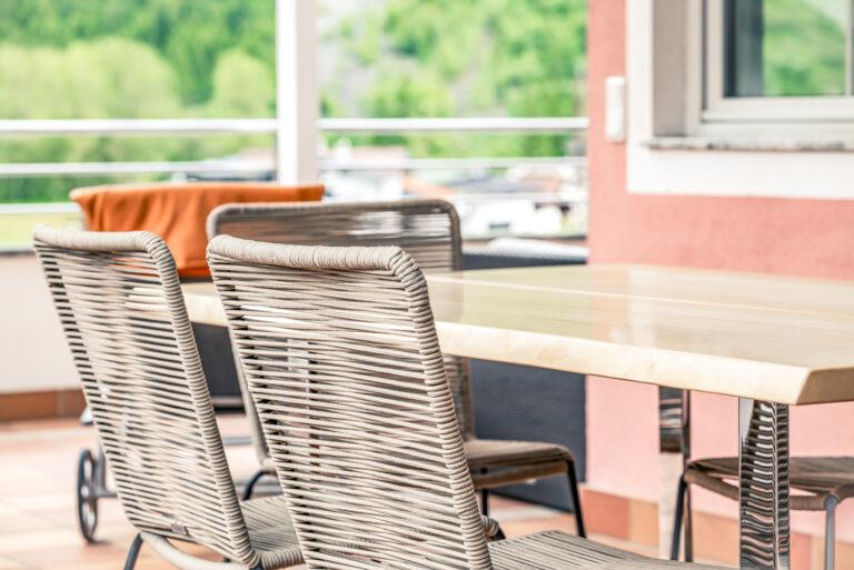 Sitzbereich Terrasse
